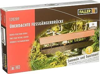Faller 120209 Roofed Pedestrian Bridge HO Scale Building Kit