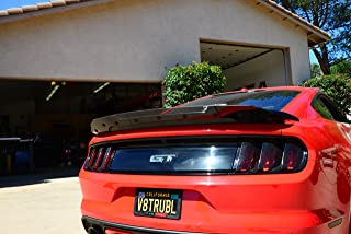 ZL1 Addons Wicker Bill Compatible with 2015-2019 Mustang Track Pack Spoiler