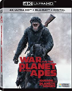 War for the Planet of the Apes | 4K + Blu-ray