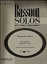 premier solo bassoon