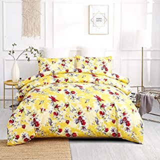 yellow paisley duvet cover