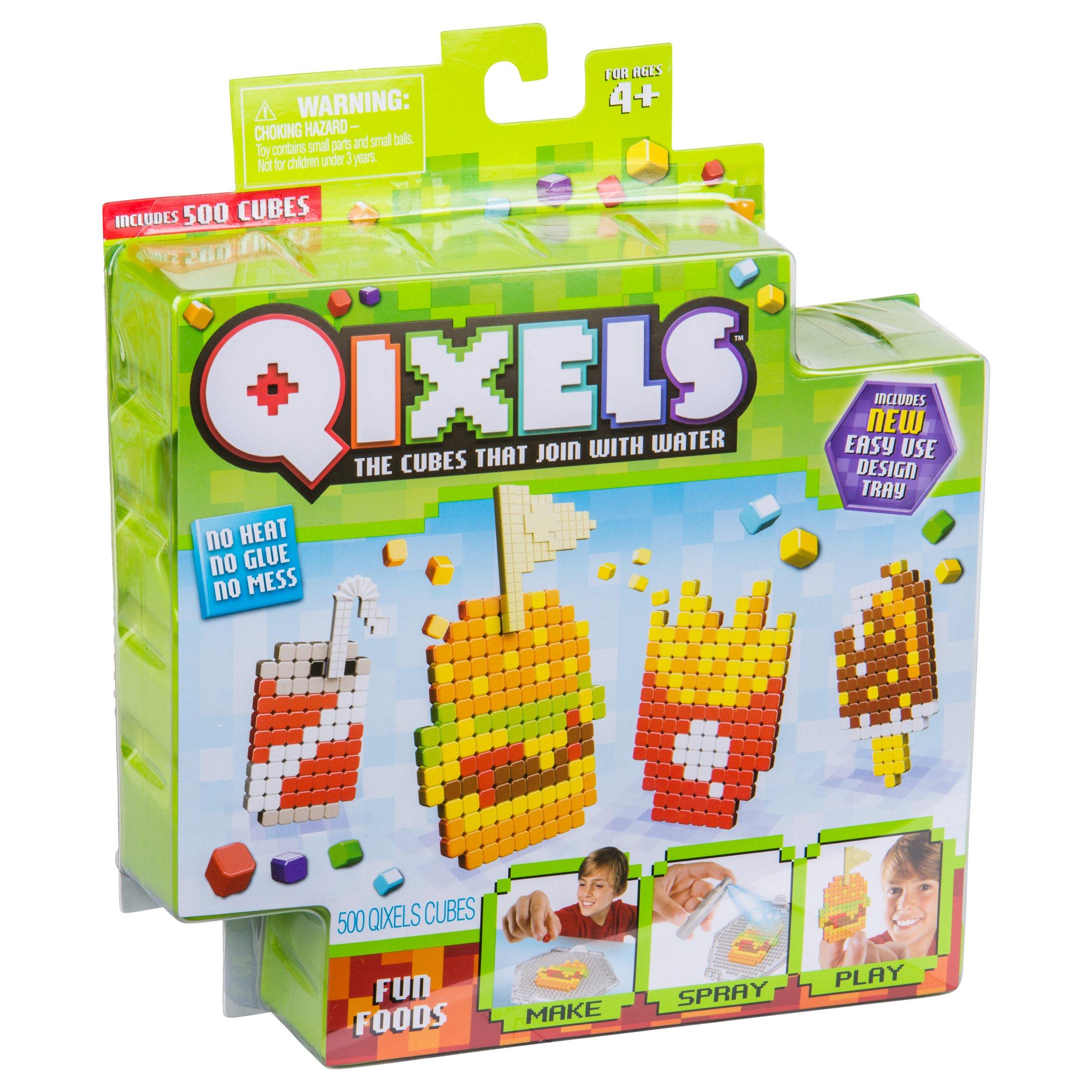 Asmokids Kanaï Kids KK87074 Mega Refills Glow Qixels 1500 10 Colours