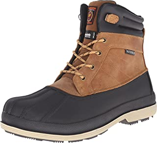 Skechers for Work Men's Duck Rain Slip Resistant Boot