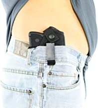 ComfortTac Concealed Carry Holster | Carry Inside The Waistband IWB or Outside The Waistband OWB | Size 1 Fits S&W Bodyguard, Ruger LCP, Kel Tec P3AT, Kahr P380, NAA Guardian, and Most .380