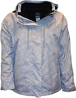f6bd0217b89 Pulse Women s Plus Extended Size 3in1 Boundary Snow Ski Jacket Coat