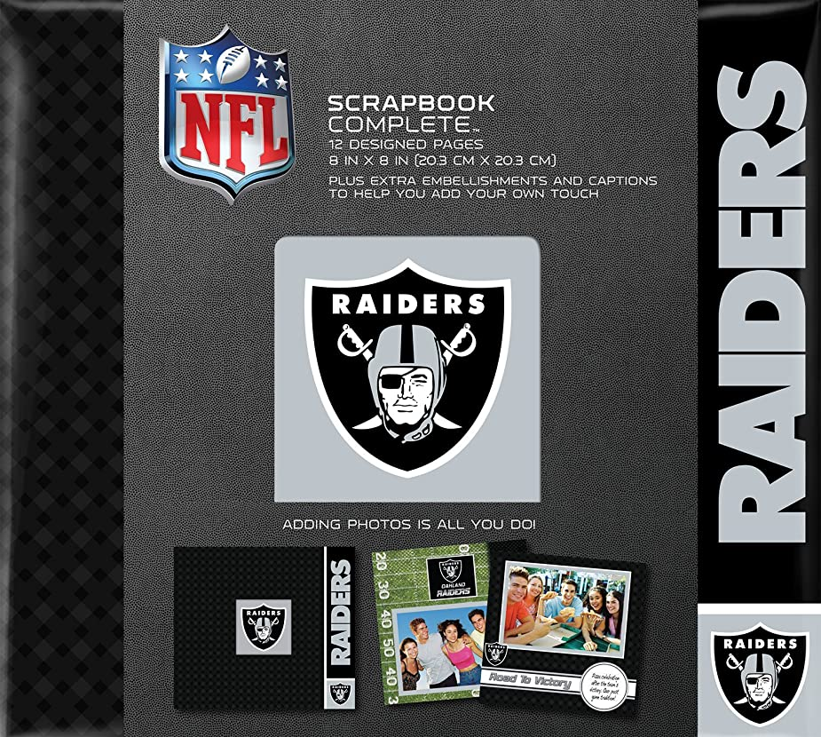 C.R. Gibson Scrapbook Complete Kit, Small, Oakland Raiders (N878518M) aqvvcu7580354