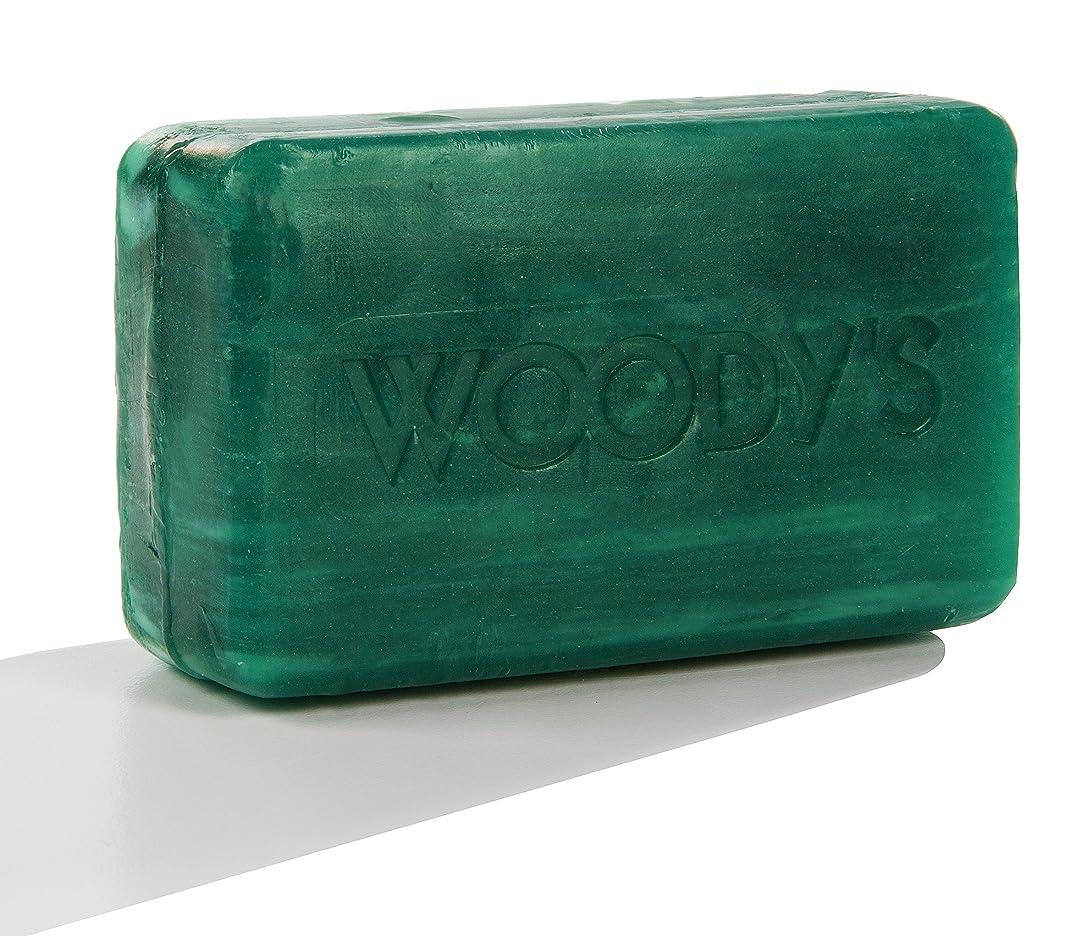 代表して認識バラ色Woody's Moisturizing Bar 8oz