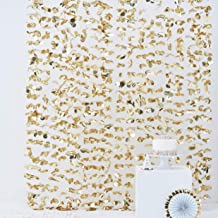 Ginger Ray Gold Foil Flower Party Hanging Backdrop Photobooth Wall Pick & Mix