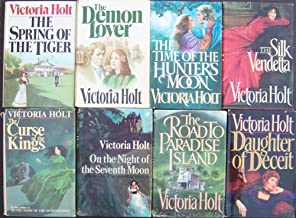 Lot 8 Victoria Holt (Hardback) Deamon Lover ~ Spring of the Tiger ~ Curse of the Kings ~ on the Night of the Seventh Moon ...