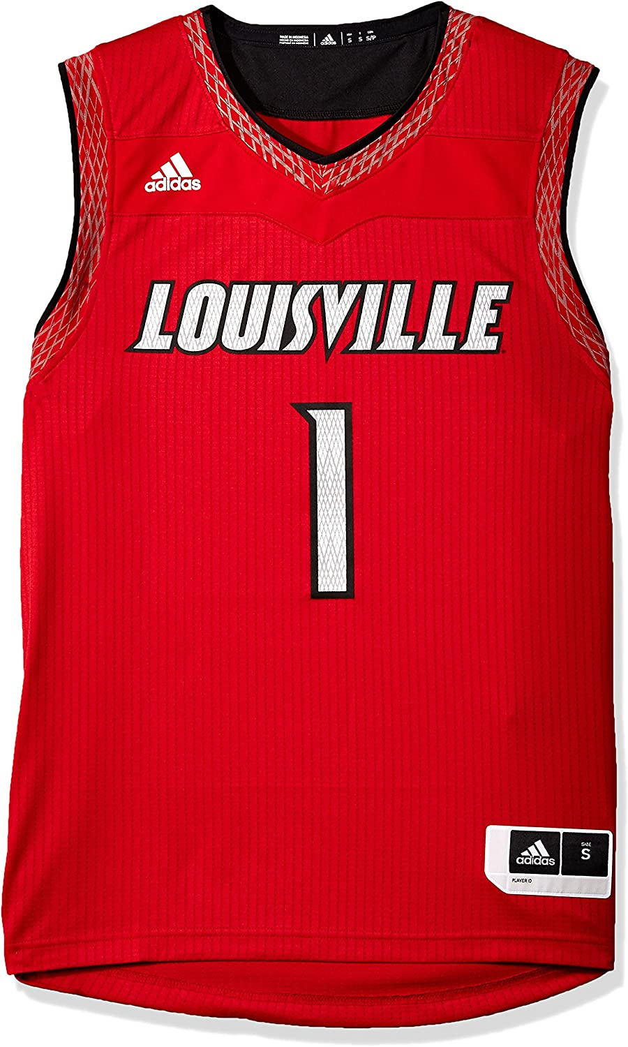 adidas Adult Men Iced Out Replica Basketball Jersey