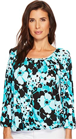 MICHAEL Michael Kors Spring Scoop Neck Top