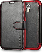 Galaxy S4 Case Wallet,Mulbess [Layered Dandy][Vintage Series][Black] - [Ultra Slim][Wallet Case] - Leather Flip Cover with Credit Card Slot for Samsung Galaxy S4 i9500