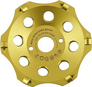 PRODIAMANT PKD Diamant Kopp Hjul 125 mm x 22,2 mm 6 Segment Diamant Kopphjul 125 mm Lämplig vinkelslip