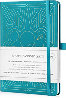 $24 » Smart Planner Pro – 2021 Daily Planner – Tested & Proven to Achieve Goals & Increase Productivity, Time Management & Happi...