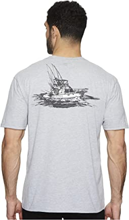 Quiksilver Waterman - Tuna Charter Short Sleeve Tee