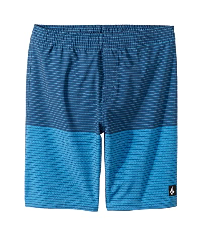 Volcom Kids Lido Heather Volley Boardshorts (Little Kids/Big Kids) (Free Blue) Boy