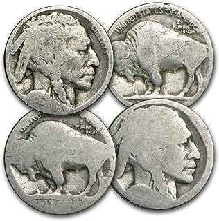 1913-1938 Buffalo Nickels (No Dates) Nickel Very Good