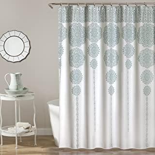 Best light blue and gray shower curtains Reviews