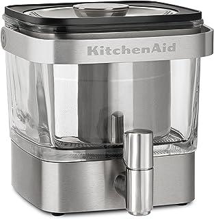 KitchenAid 冷酿咖啡机,拉丝不锈钢 拉丝不锈钢 28 Ounce 609115-KCM4212SX