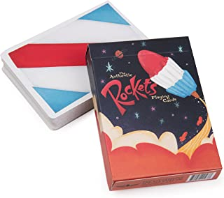 Ellusionist Rockets Playing Cards - Add a Blast of Nostalgia to Your Card Games and Tricks