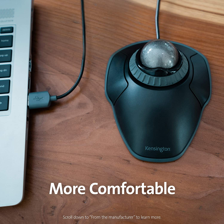 Kensington Orbit Trackball Mouse with Scroll Ring K75327WW ...