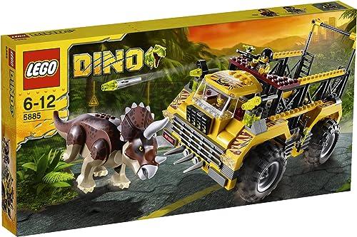 ¡no ser extrañado! LEGO Dino 5885 - La Trampa Trampa Trampa del Triceratops  costo real