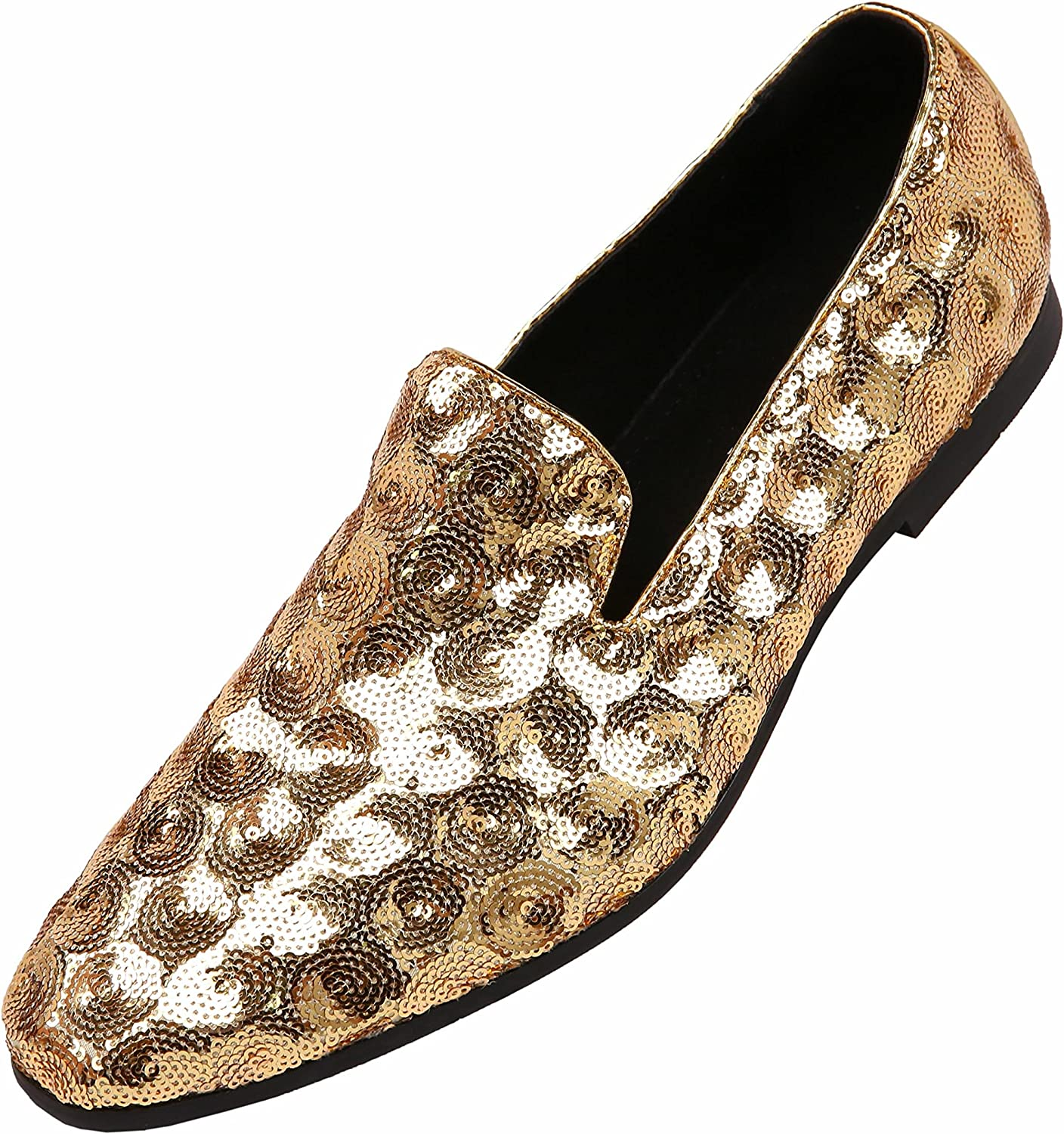 Mens Pointy Toe Polish Slip on Nightclub Party New Low Top Leisure Leather Shoes