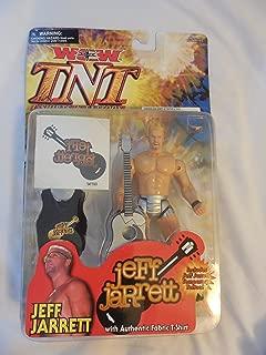 WCW TNT T-shirts N Tattoos Jeff Jarrett With Authentic Fabric T-Shirt