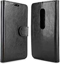 Moto G 3rd Gen Wallet Case, CoverON [Executive Series] Synthetic Leather Flip Folio Cover Pouch LCD+Stand Case for Motorol...