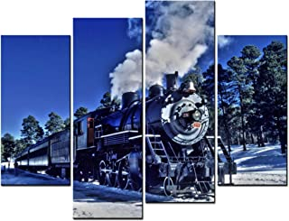 Best steam train paintings for sale Reviews