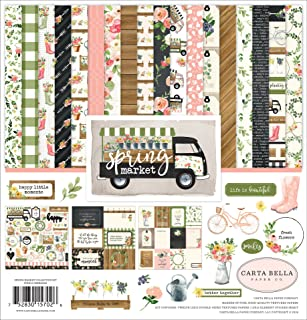 Carta Bella Paper Company Spring Market Collection Kit