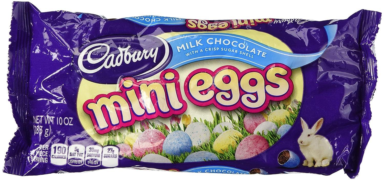 Amazon.com: Cadbury Easter Candy Coated Mini Eggs (Milk Chocolate, 10 Ounce)
