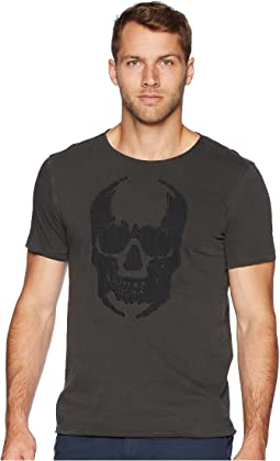 Applique Skull Graphic Tee KG3861U2B