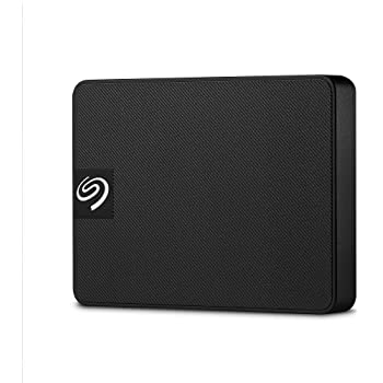 Seagate STJD1000400 Expansion SSD Externo, 1 TB, Negro
