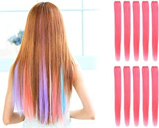 Best light purple clip in hair extensions Reviews
