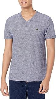 Lacoste Men's Fine Stripe Short Sleeve T-Shirt