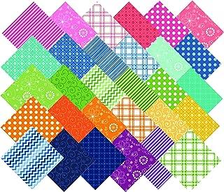 KimberBell Basics Colors Charm Pack 42 5-inch Squares Maywood Studio