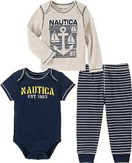 Nautica Baby Boys 3 Pieces Pants Set