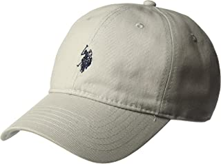 U.S. Polo Assn. Men's Washed Twill Baseball Cap, 100% Cotton, Adjustable