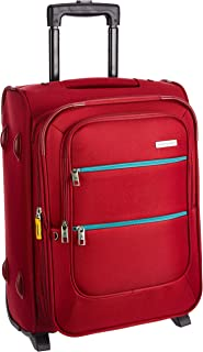 Aristocrat Polyester 36.5 cms Red Softsided Cabin Luggage (STVI2W53RED)