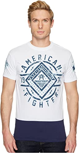 American Fighter - Birchwood Short Sleeve Panel Tee