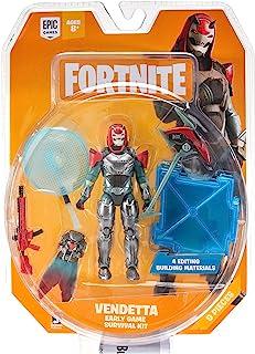 Fortnite Early Game Survival Kit 1 Figure Pack, Vendetta