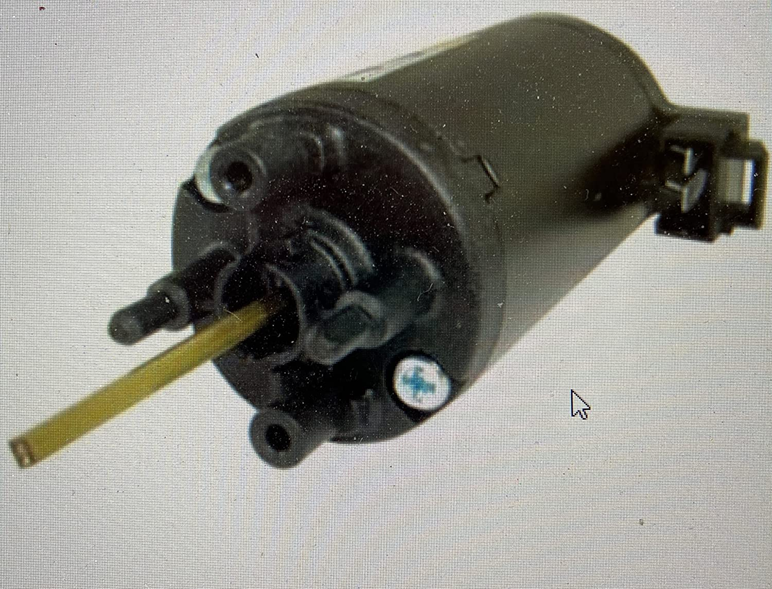 3-12VDC Cheap SALE Start Gear Motor. Double Shafted Shaft at Spins Excellent 2500 Rpm Inclu