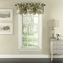 "WAVERLY Garden Glory Window Valance, 16""x60"", Mist"