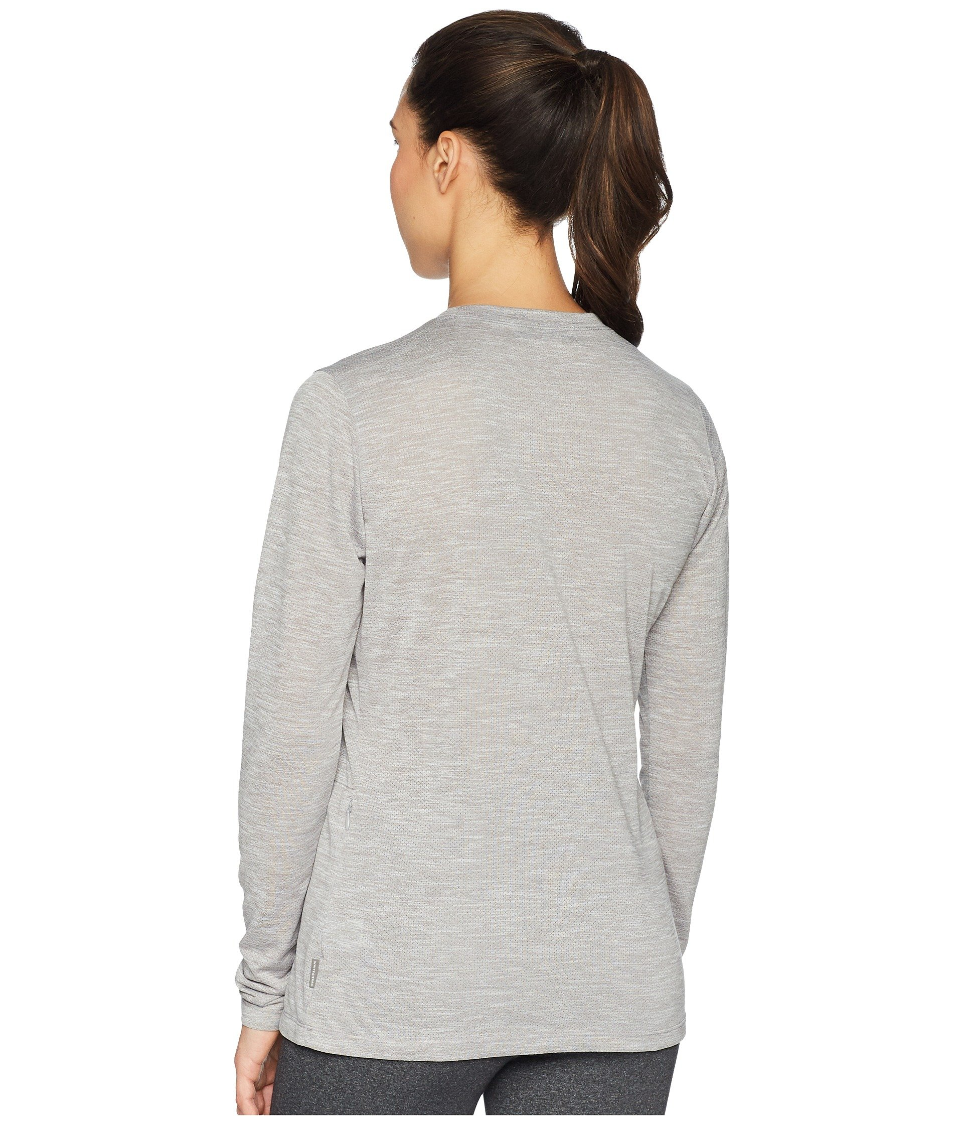 Sierra Tee Sleeve Long Bug White Free Trail Heather Gray dURq7Uvw