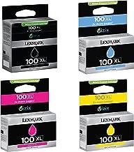 lexmark 100xl cartridges