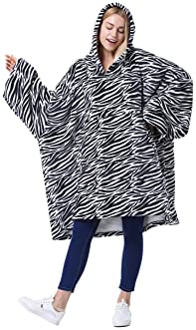 Catalonia Oversized Hoodie Blanket Sweatshirt,Comfortable Sherpa Giant Pullover for Adults Men Women