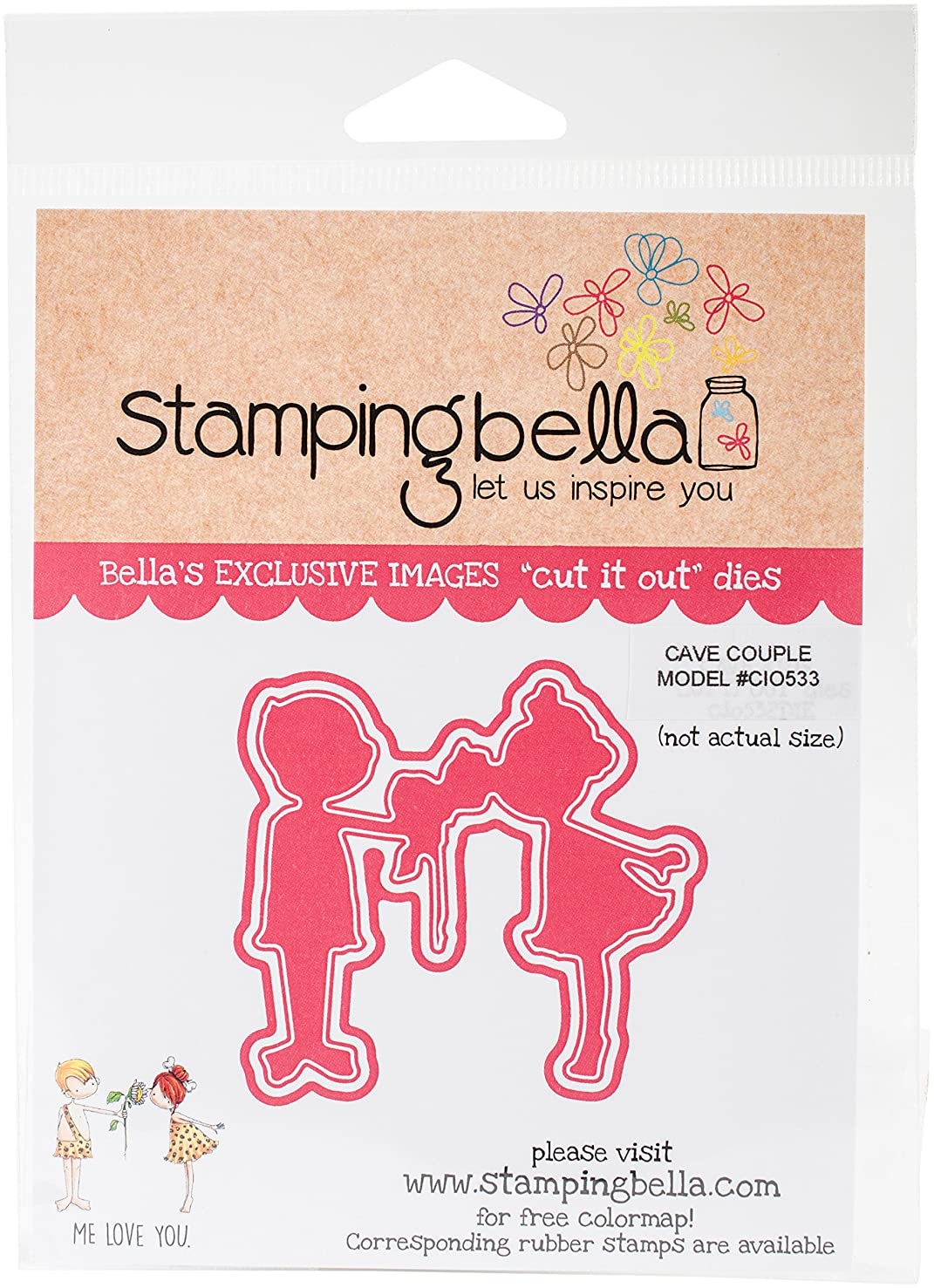 Stamping Bella CIO533DIE Cut It Out Dies-Couple
