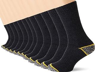 FM London Men's Work Socks (Pack of 12)
