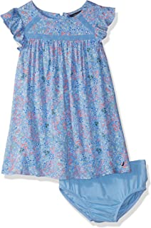 Nautica Baby Girls Short Sleeve Fashion Dress